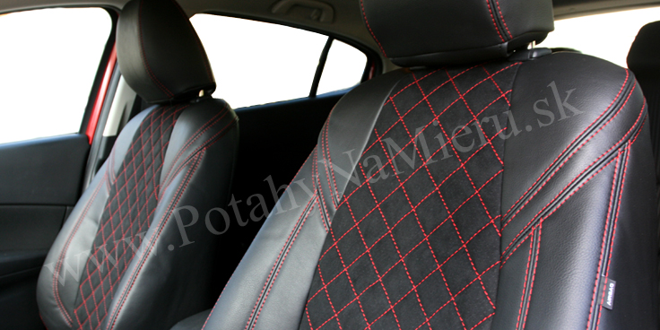 Autopoťahy pre Mazda 3, Exclusive Alcantara collection