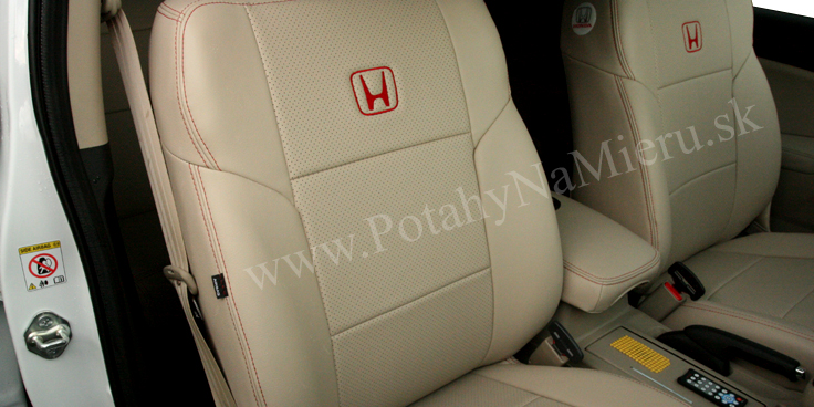 Autopoťahy pre Honda CR-V 2014, Leather Look collection