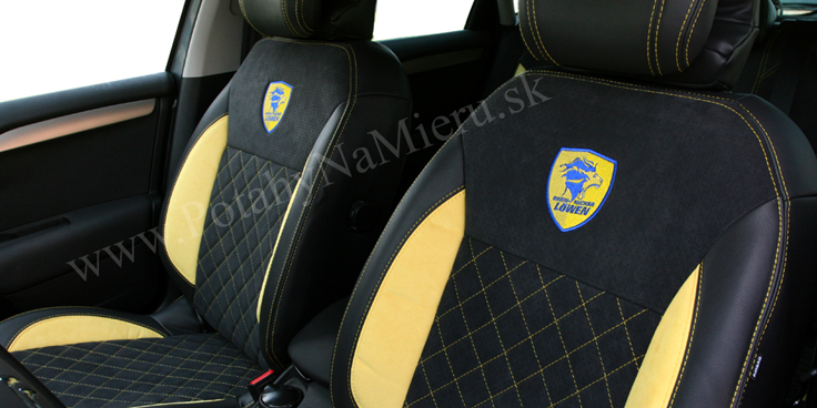 Autopoťahy pre CITROEN C4 SPORT 2013 EXCLUSIVE collection