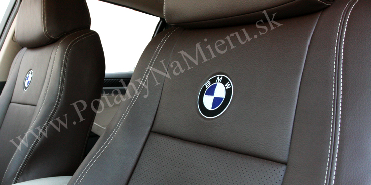 Autopoťahy pre BMW X6, Leather Look collection