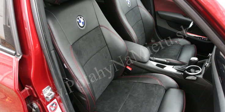 Autopoťahy pre BMW X1, Alcantara collection