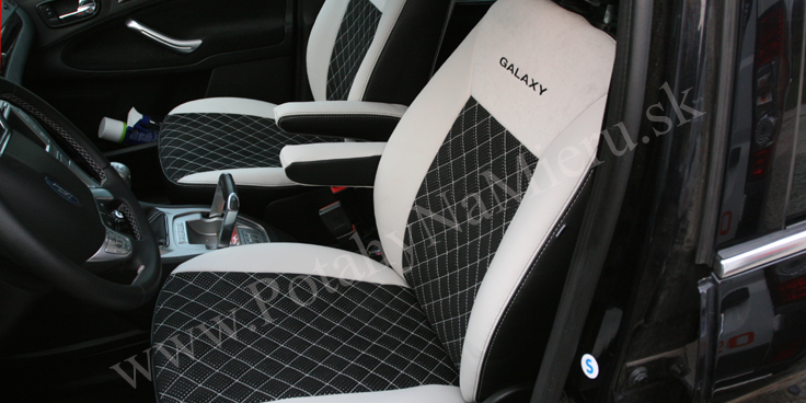 Autopoťahy pre Ford Galaxy 2007, Exclusive Alcantara collection