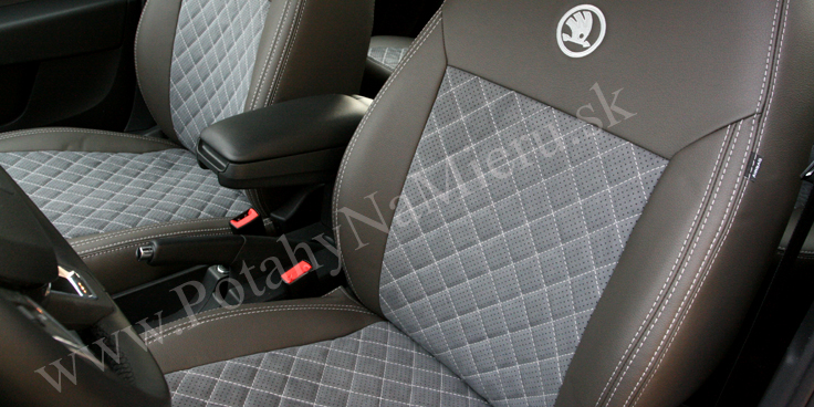 Autopoťahy pre Škoda Rapid, Exclusive Alcantara collection
