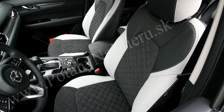 Autopoťahy pre Mazda CX-5 2018, Exclusive Alcantara collection
