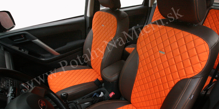 Autopoťahy pre Subaru Forester, Exclusive Alcantara collection