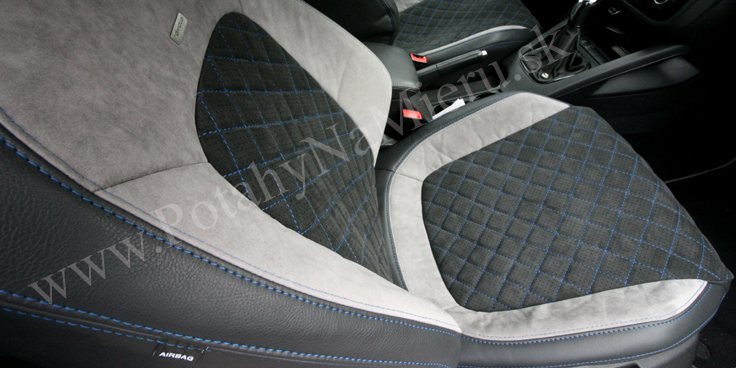 Autopoťahy pre Volkswagen Scirocco, Exclusive Alcantara collection