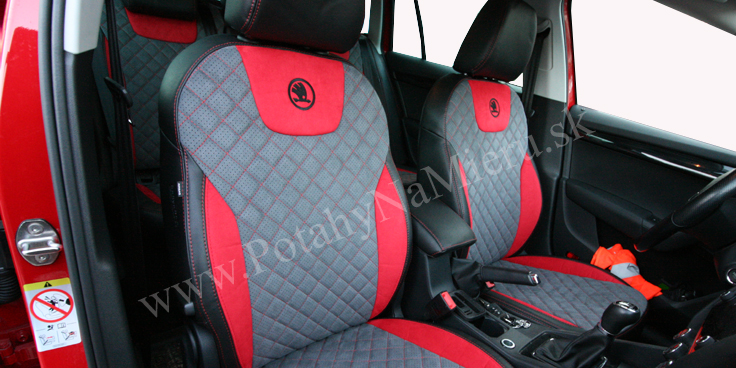 Autopoťahy pre Škoda Octavia III., Exclusive Alcantara collection