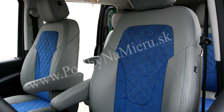 Autopoťahy pre Mercedes-Benz V-Klasse, Exclusive Alcantara collection