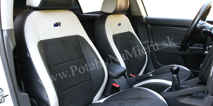 Autopoťahy pre VW Golf VI., Individual Alcantara collection