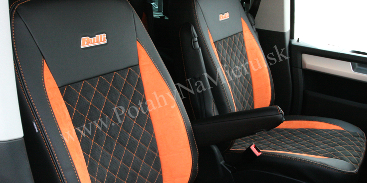 Autopoťahy pre VW MultivanT6, Exclusive Alcantara collection