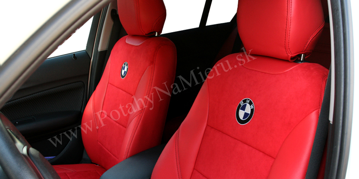 Autopoťahy pre BMW X1 2014 Alcantara collection