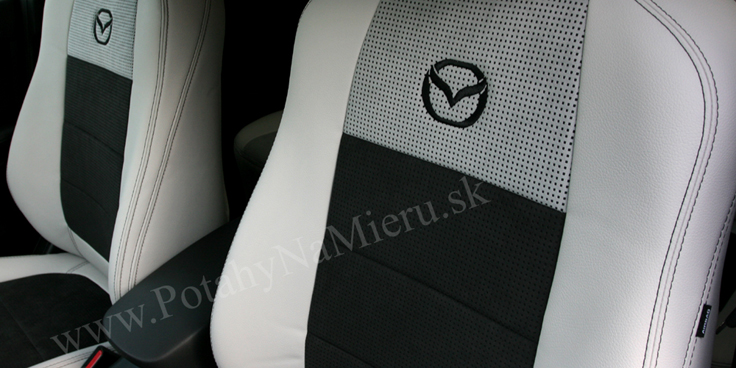 Autopoťahy pre MAZDA CX-5   2014  Alcantara collection