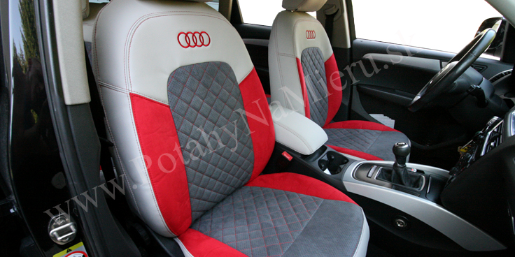 Autopoťahy pre Audi Q5 2008, Exclusive Alcantara collection