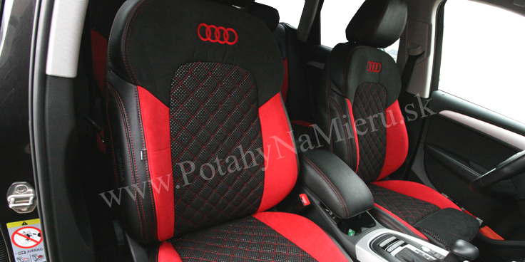 Autopoťahy pre Audi Q5 2015, Exclusive collection