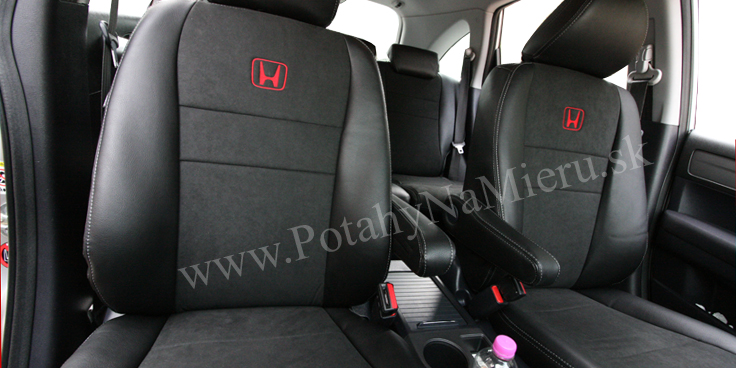 Autopoťahy pre Honda CR-V 2010, Alcantara collection
