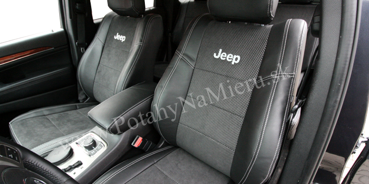 Autopoťahy pre Jeep Grand Cherokee 2014, Alcantara collection